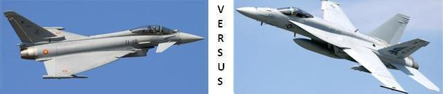 eurofighter-VS-FA-18 SUPER Hornet