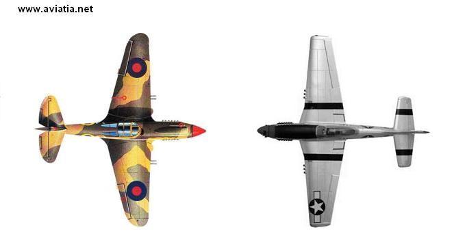P-40 vs P-51