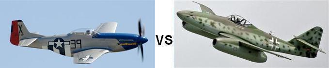 P-51 vs Me-262