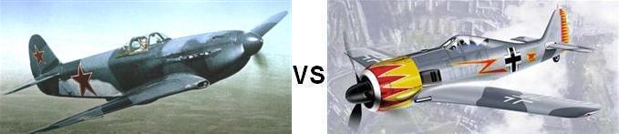 Yak-3 vs FW-190