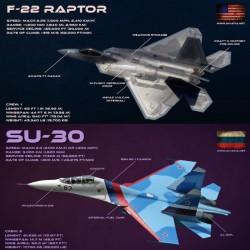 f-22 vs su-30